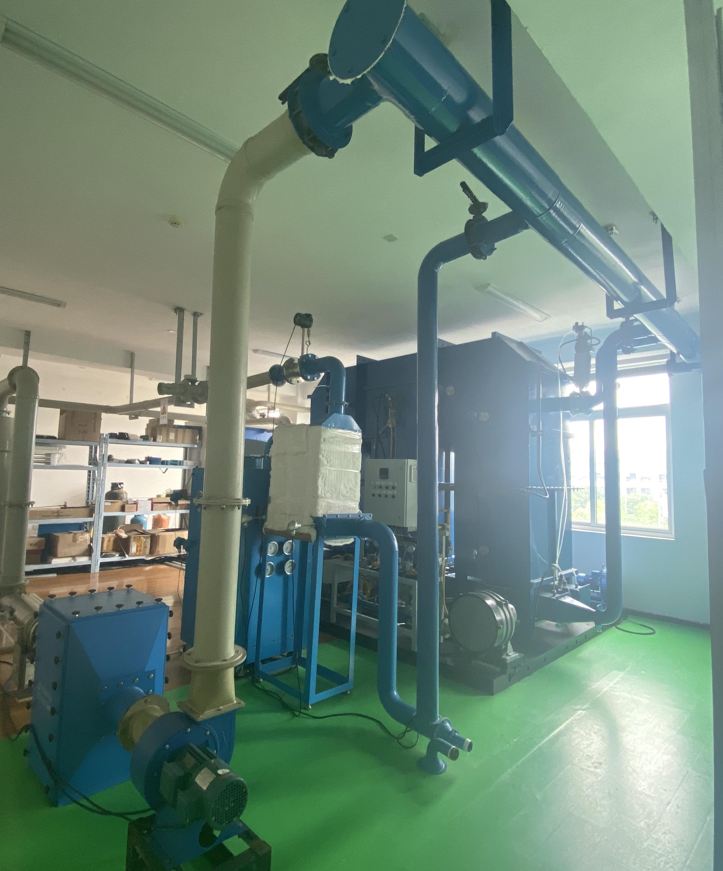 时泰环保废气治理实验室建成